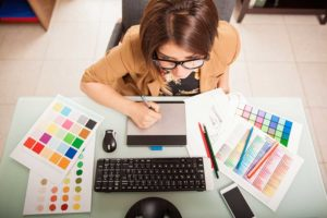 Salidas profesionales Diseño gráfico y Web